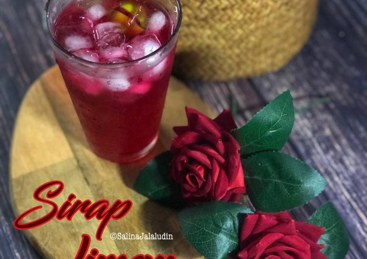 Sirap Limau Kasturi - resepipouler.com
