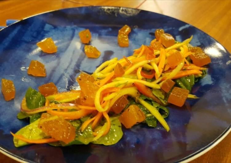 Aam Papad Arugula Salad