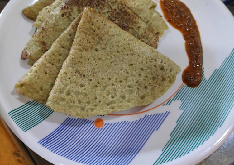 Grandmother's Dinner Ideas Refreshing Mix dal chilla