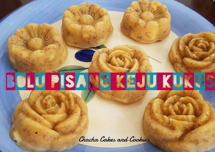 resep mengolah Bolu pisang keju kukus (no mixer) - Sajian Dapur Bunda