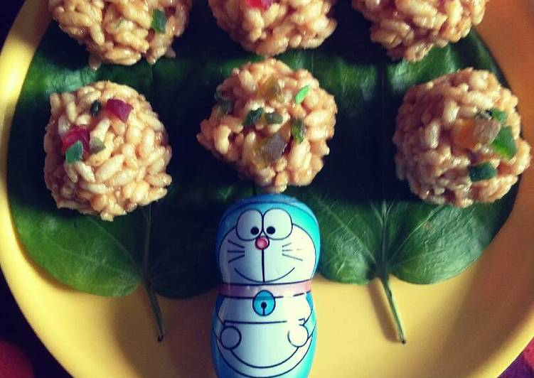 Selecting The Best Foods Will Help You Stay Fit As Well As Healthy Puffed rice balls