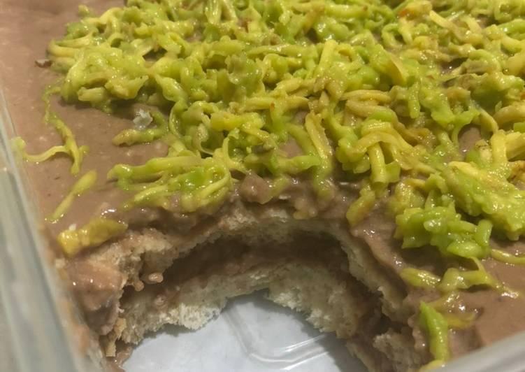 Setup Roti Gandum Chococheese Avocado