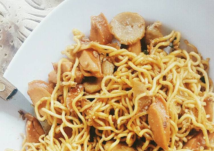 How to Cook Perfect Chinese Fried Noodle
