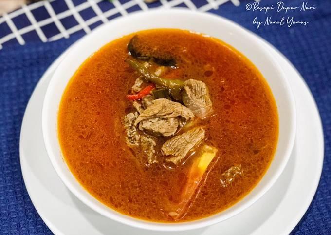 Resepi Tomyam Daging