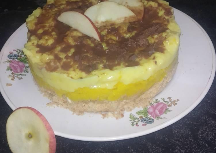 Healthy Mix Fruit Semolina Cake Without Baking