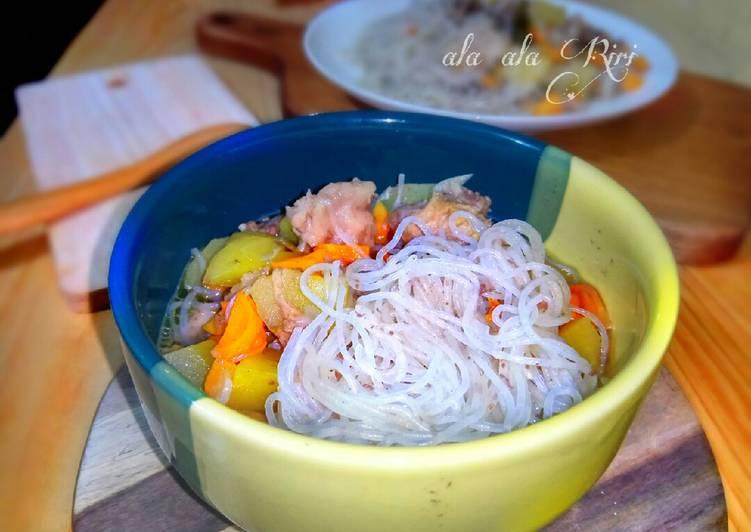 Bihun Kuah Sup Daging
