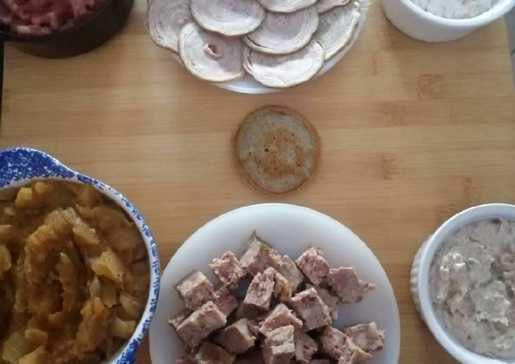 Blinis au sarrasin pour apero breton