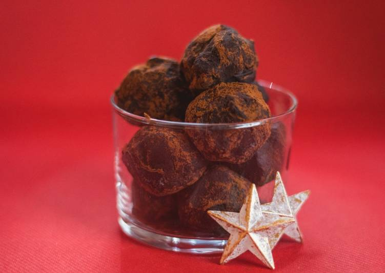 Comment Servir Truffes au chocolat (sans gluten)