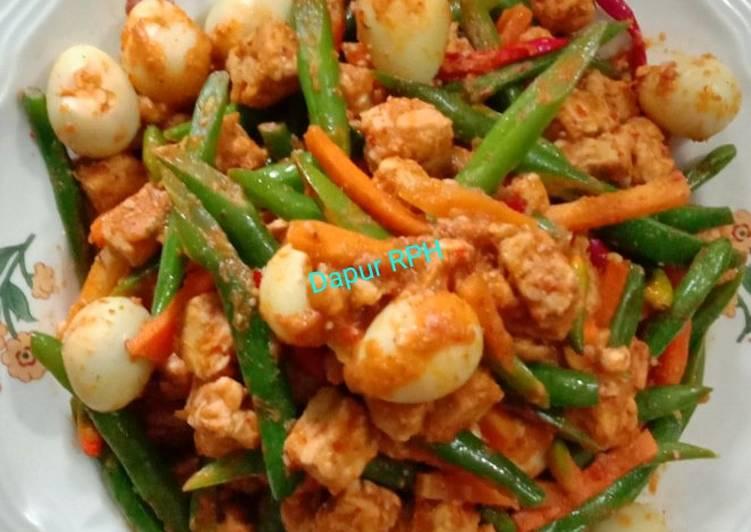 Resep Tumis Tempe Telur Buncis Foody Bloggers