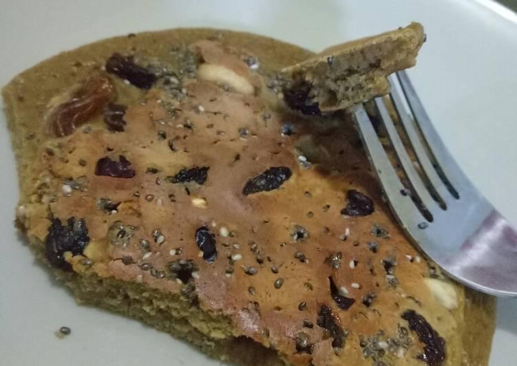 Cara mudah membuat Pancake Diet