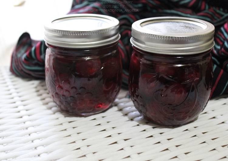 Recipe of Homemade Preserved Cherries