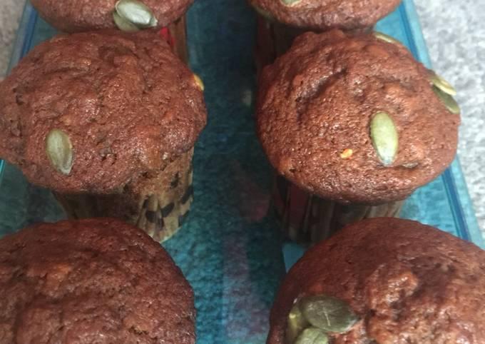 Recipe: Perfect Vegan banana cupcakes (sugar free)