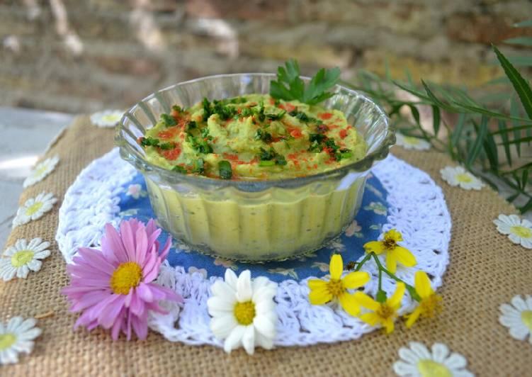 Hummus de arvejas😃