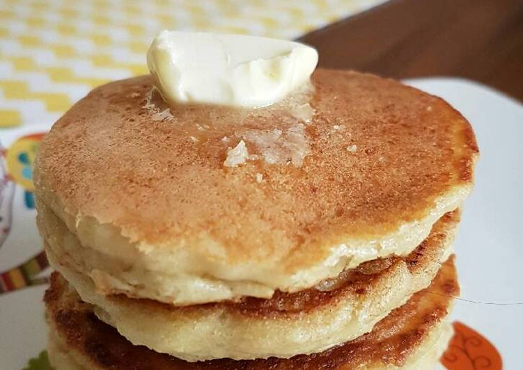 Resep Pancake low carb no sugar Paling dicari