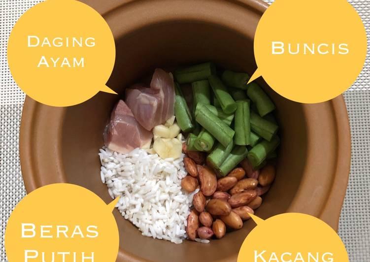 Resep Mpasi Bubur Ayam Kacang Merah Buncis Oleh Nic Kitchen Cookpad