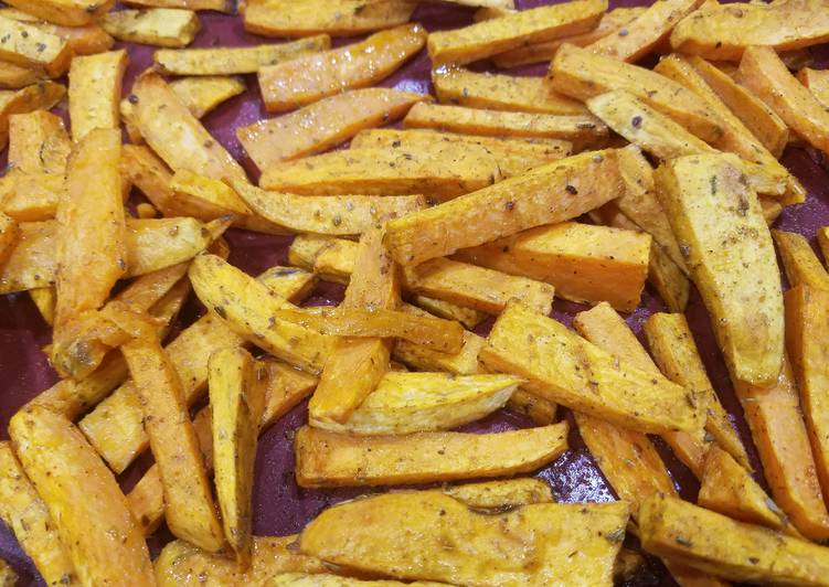 Sweet potato wedges – Food Network Cookbooks