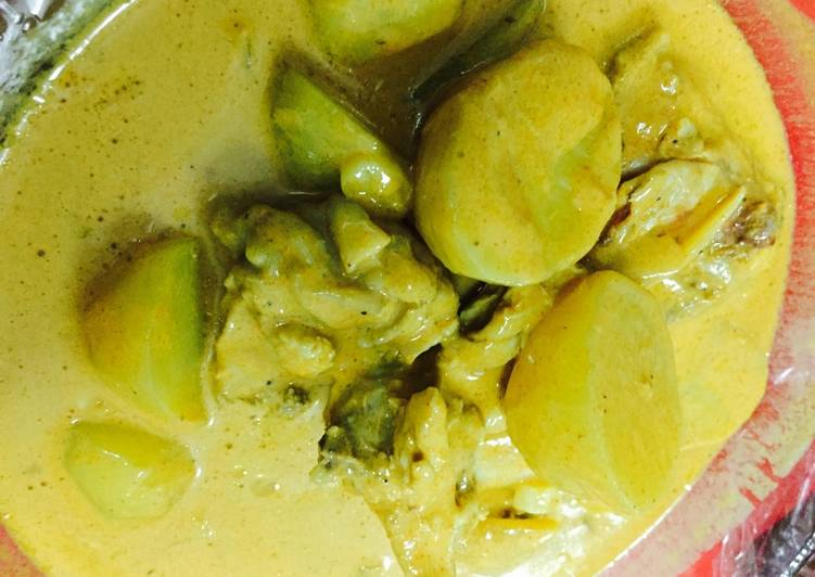 Chicken Curry for break fasting