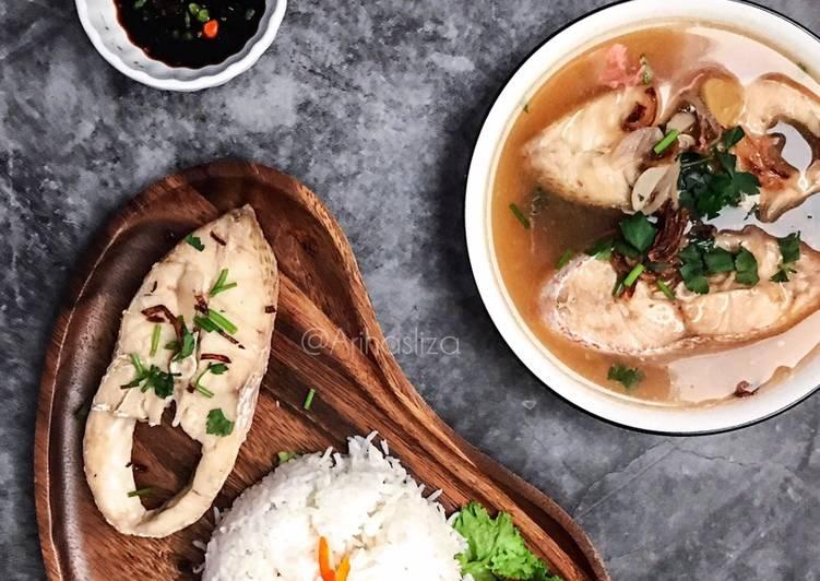 Resepi:  Sup Ikan Merah  Lazat