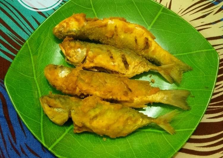 4. Ikan Belanak Goreng Tepung
