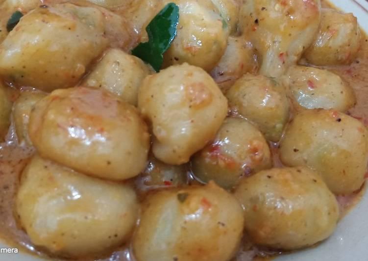Cilok sambal kacang