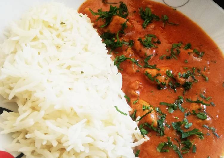 Recipe: Perfect Butter Chicken