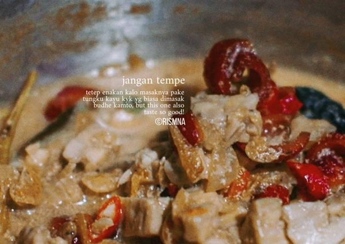 sayur (jangan) tempe khas jogja - resepenakbgt.com