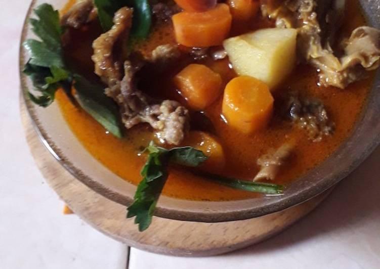 Sup kambing madura