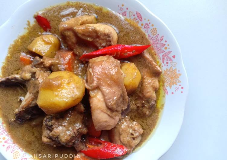 Ayam Kurma Kuah Pekat - velavinkabakery.com