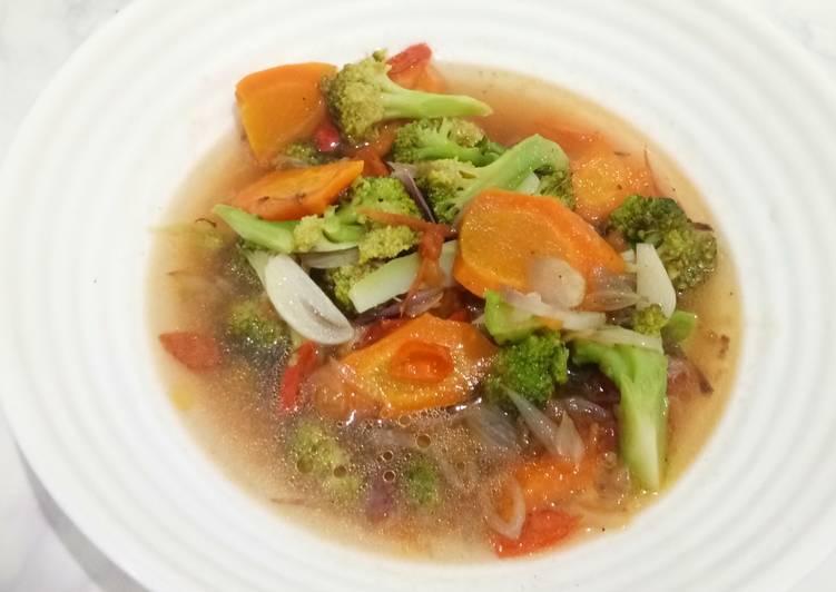 Tumis Brokoli Wortel