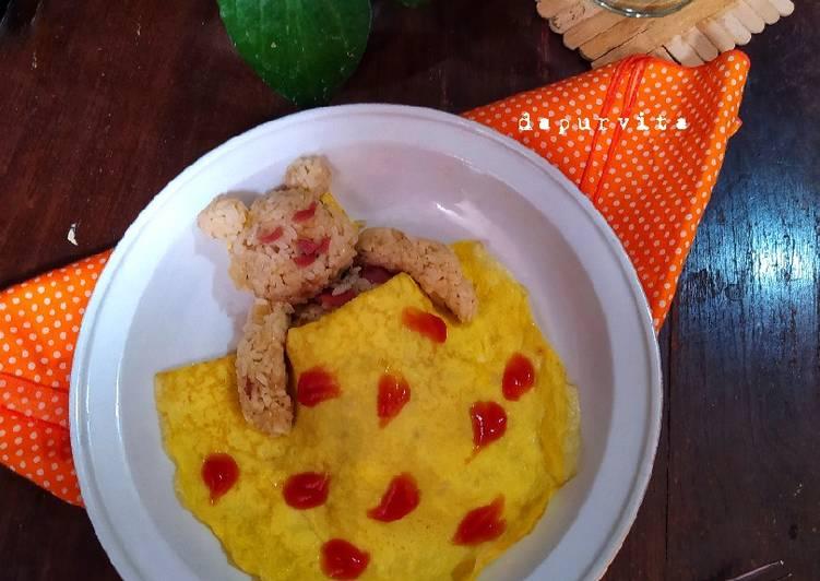 Omurice atau Nasi Goreng Omelette