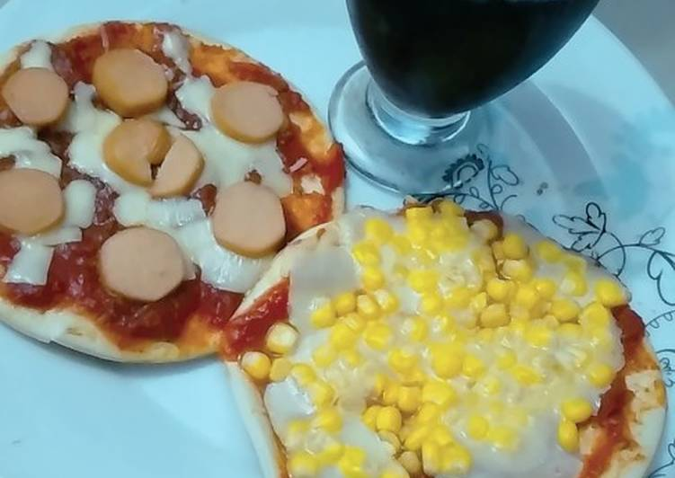 Pizzas pre-cocidas sin Horno