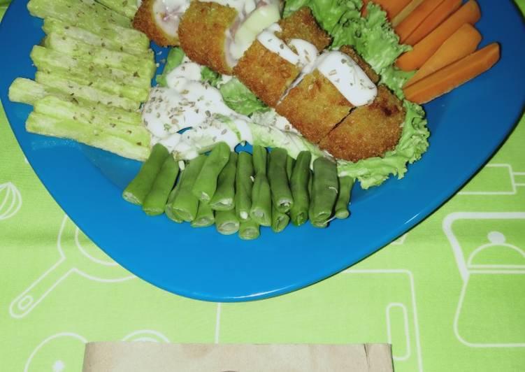 297. Chicken Cordon Bleu by Uliz Kirei
