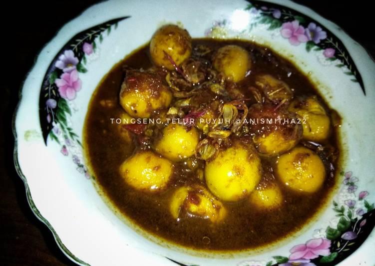 Resep Tongseng Telur Puyuh Oleh Anis Mitha Cookpad