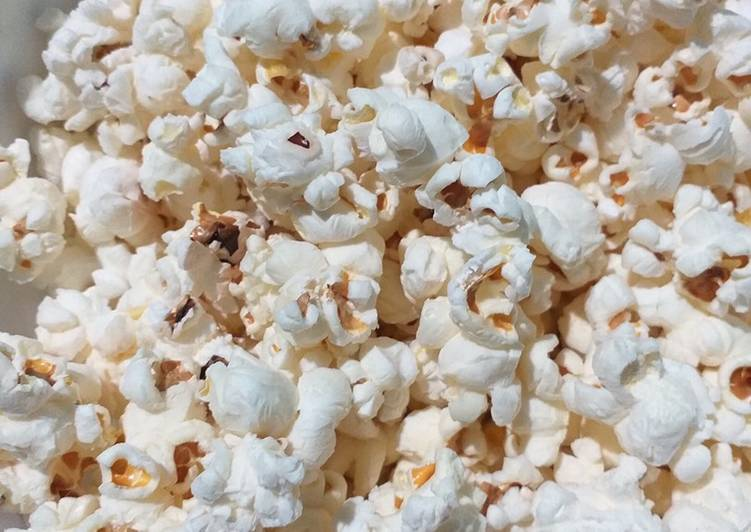 Easy Recipe: Delicious Popcorn on the stove