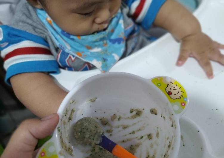 MPASI 6-8 bulan : Bubur Daging Sapi