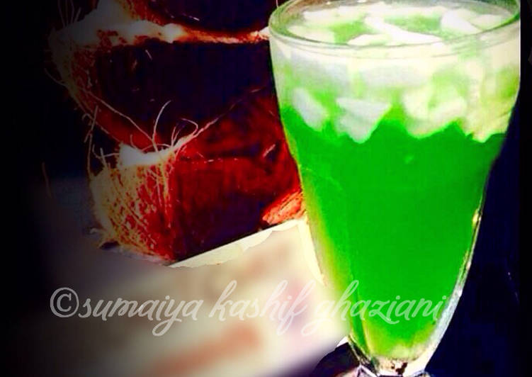 5 Minute Simple Way to Make Love Coconut cooler #ramadankitayari