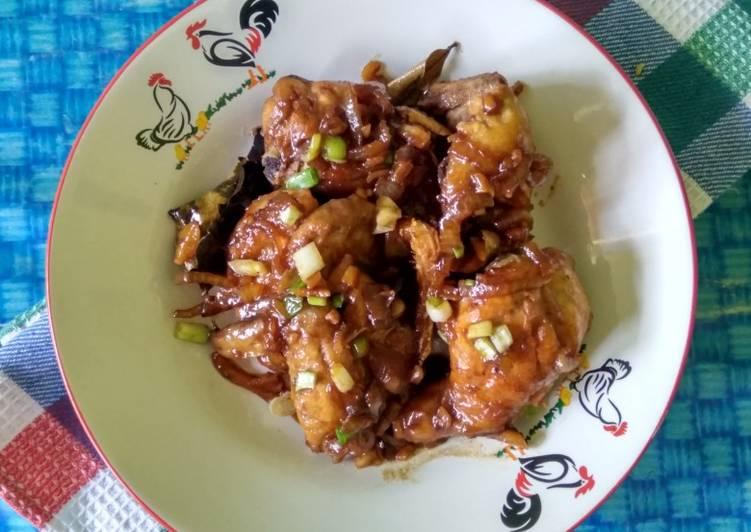 Cara mudah membuat Ayam kecap