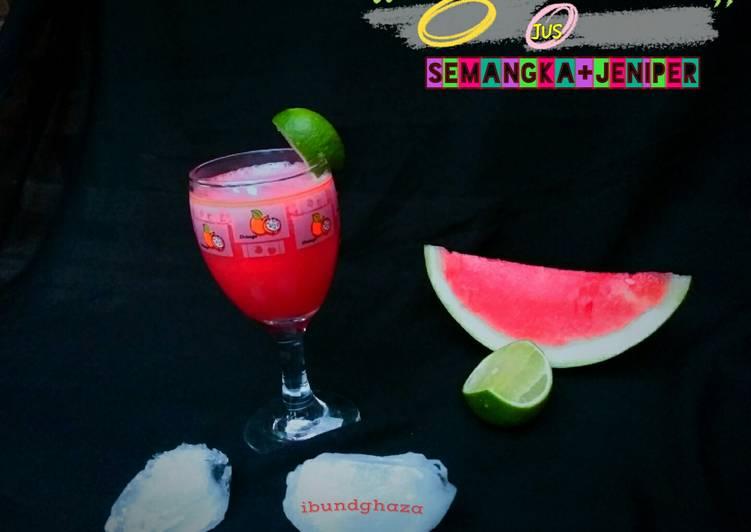 Jus semangka +jeniper