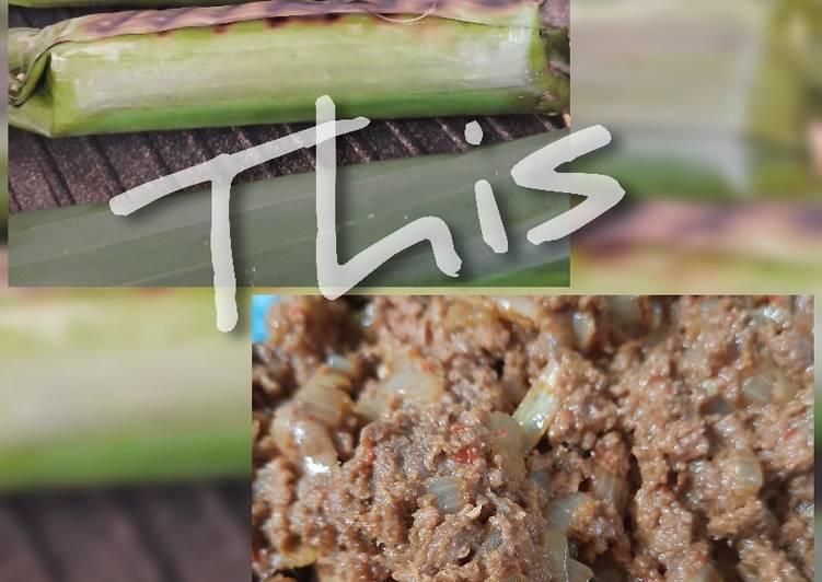 Resep Nasi Bakar Empal Daging  Anti Gagal