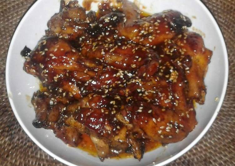 Chicken Wing with Honey Barbeque