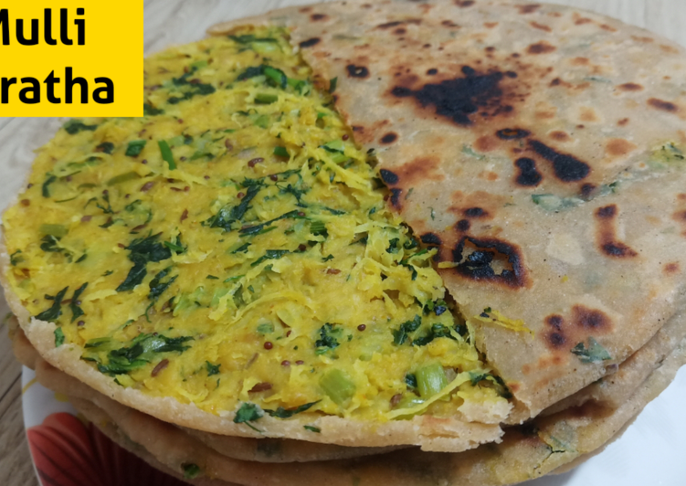 How to Prepare Top-Rated Unique Mooli Paratha Recipe