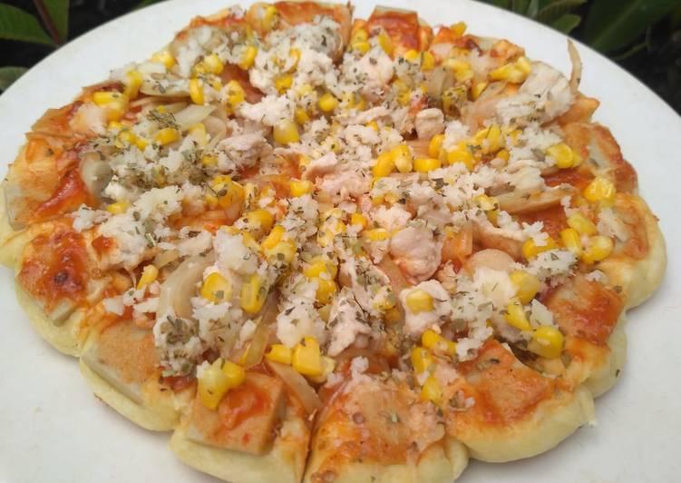 Pizza teflon empuk enak