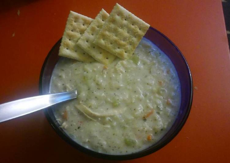 creamy chicken rice soup, Finding Healthful Fast Food