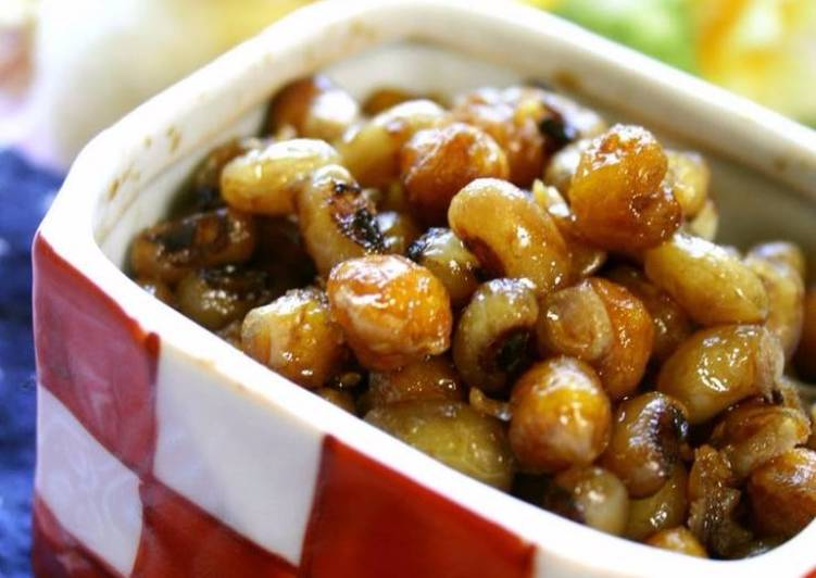 Chickpeas & Black Eyed Peas in Honey Balsamic Sauce