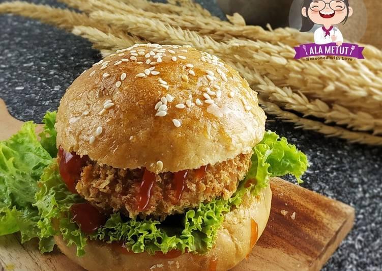 Vegan Tempeh / Tofu Burger alaMetut 👩🍳