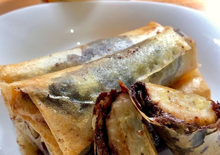 5 Resep: Lumpia pisang crispy a.k.a Pisang Aroma Anti Ribet!