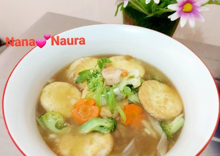 Tofu Saus Tiram
