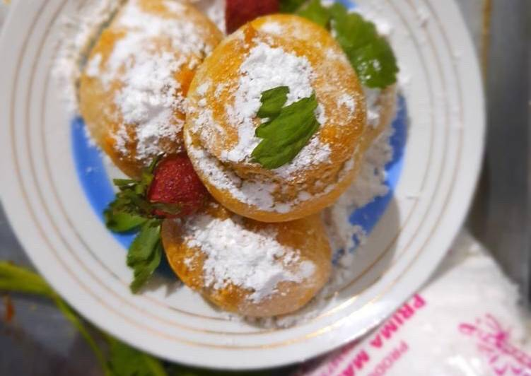 Gluten Free Cream Puff (Kue Soes)