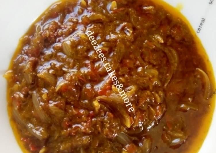 Onion sauce
