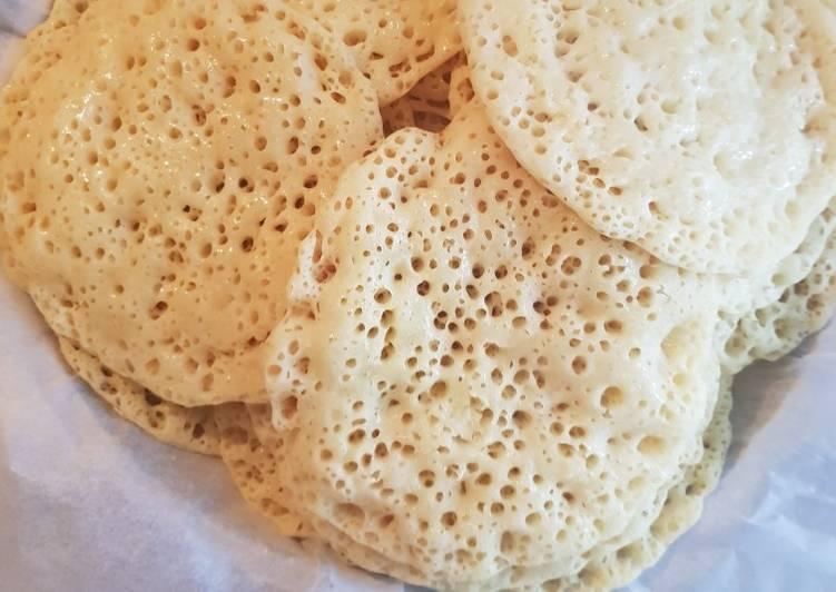 Baghrir (crêpes à 1000 trous) express